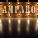 cartel luminoso amparo