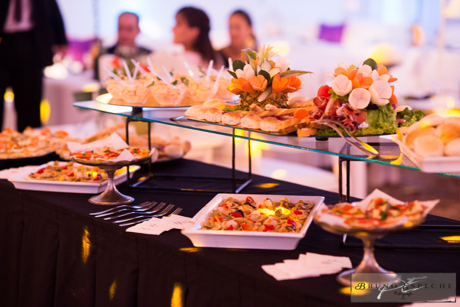 mesa recepcion Vallerga catering